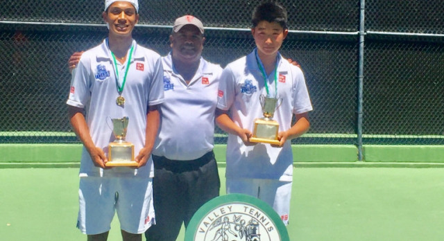 Lee and Pereira Win Ojai Doubles Championship