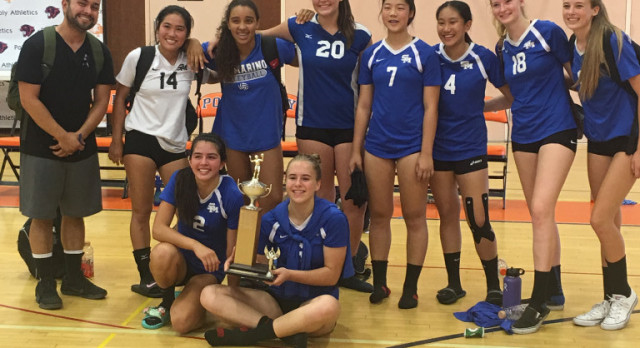 SM Volleyball Finishes Runner-up