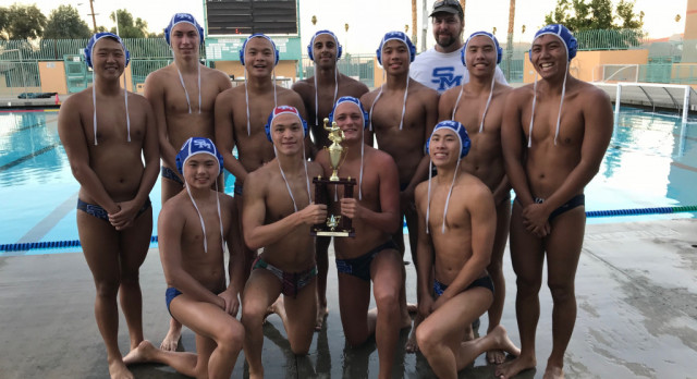 Water Polo Places Third at Corona Tournament