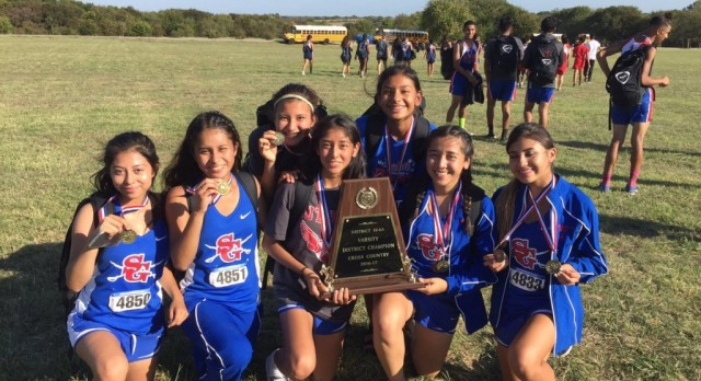 District 10-6A Champions: Congratulations Lady Colonel Cross Country