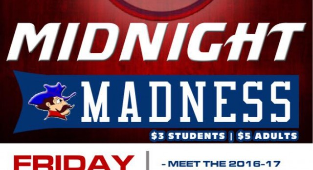 First day of boys basketball practice today……Don't forget about Midnight Madness