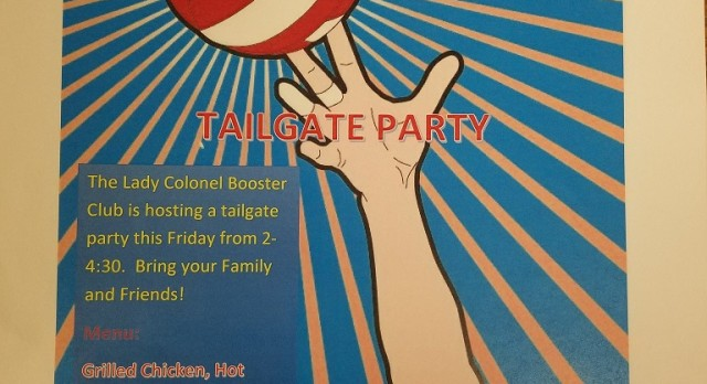 Volleyball tailgate today….
