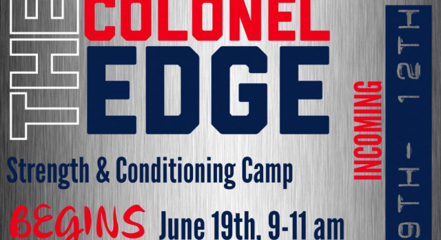 Colonel Strength and Conditioning Camp will begin Monday