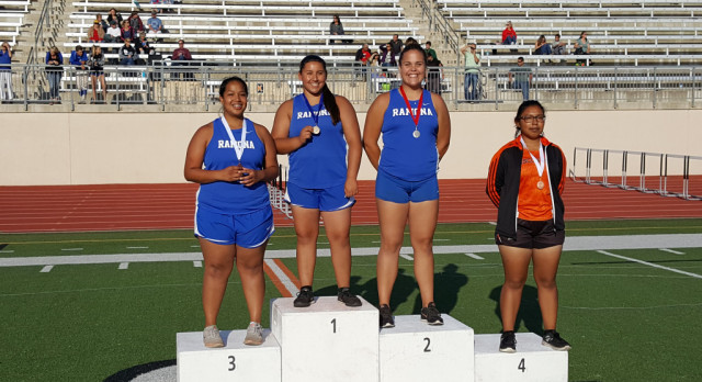 Track & Field 1st Place League Finishers (1st Team All-League)
