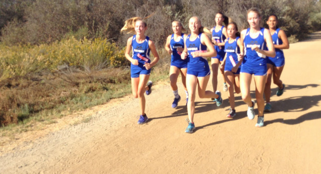 """Girls Cross Country Wins Valley League """"Again"""" !"""