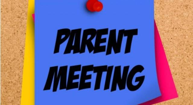 High School Parent Meeting