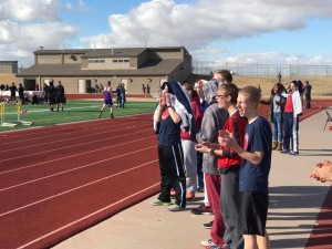 Cheering for Our Teammates!