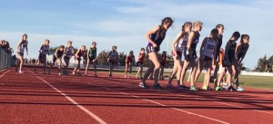 The Women's 1,600 Meter Run