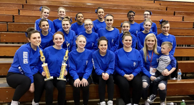 Dance Team place 1st in Pom and Jazz