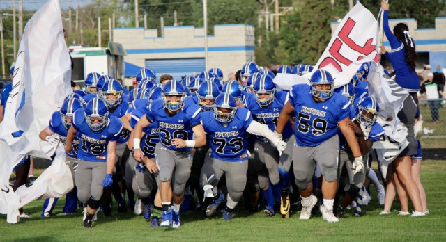 Football Path to Sectional 3-peat is Set