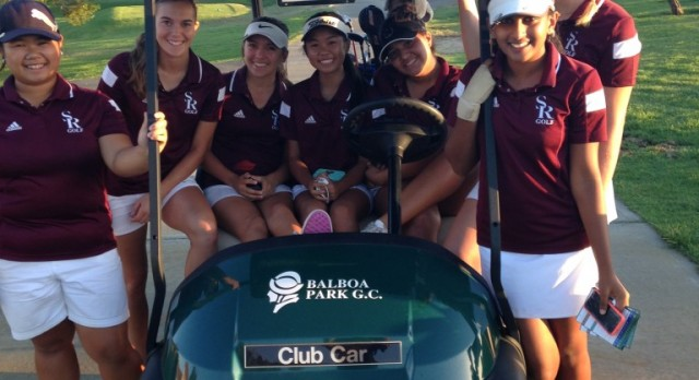 Scripps Ranch High School Girls Varsity Golf beat Mira Mesa High School 219-333