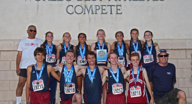 Girls & Boys both take first place at Mt. Sac Invitational