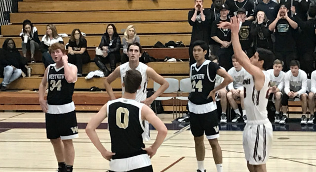 Boys Basketball falls to Westview in CIF Playoffs