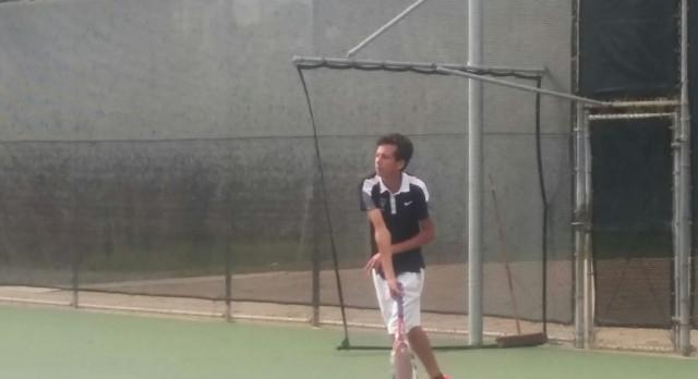 JV Boys Tennis beat St. Augustine