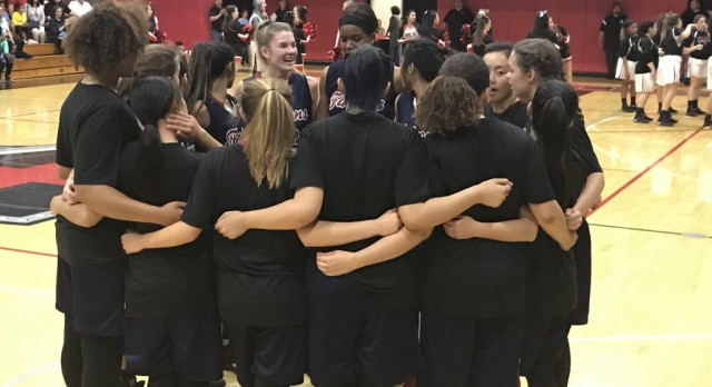 Girls Basketball fall to Village Christian