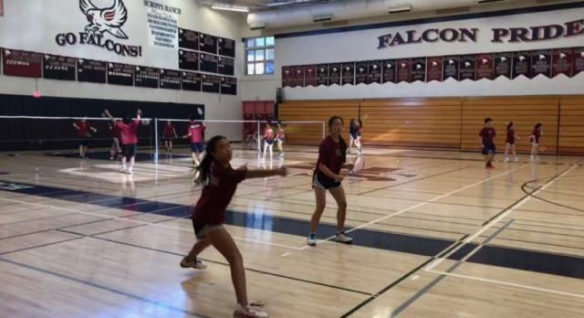 Badminton beats Torrey Pines