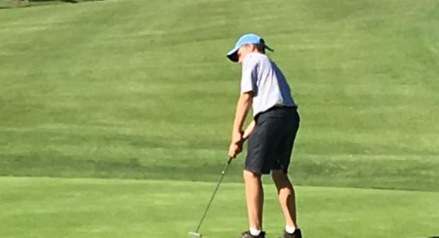 JV Boys Golf beat Francis Parker