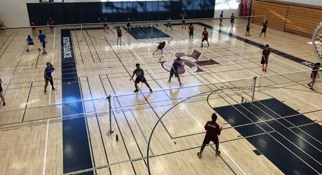Badminton beats Mira Mesa at home 9-8