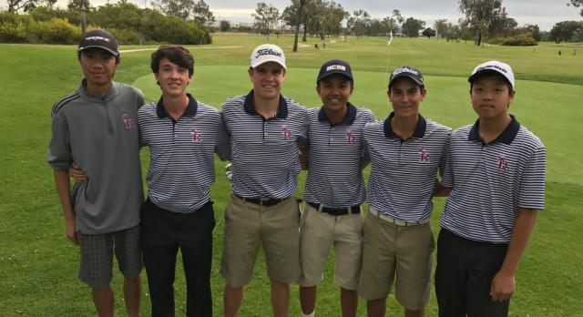 Varsity Boys Golf beat St. Augustine