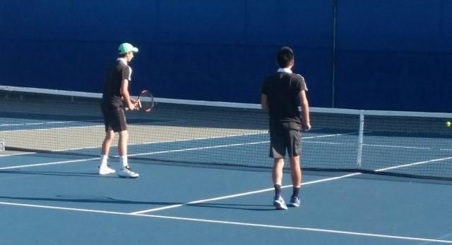 Varsity Boys Tennis beat San Diego
