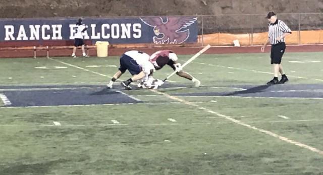 Varsity Boys Lacrosse tie Bishops