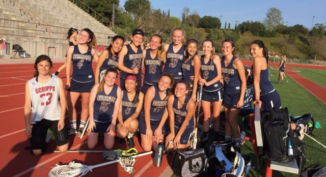 JV Girls Lacrosse beat Cathedral