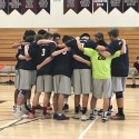 Varsity Boys Volleyball vs. Saints