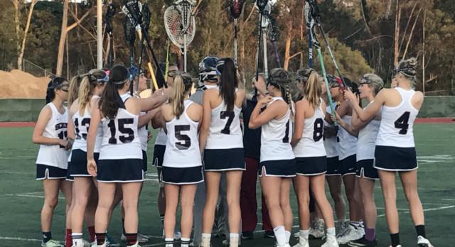 Varsity Girls Lacrosse lose close game at Coronado