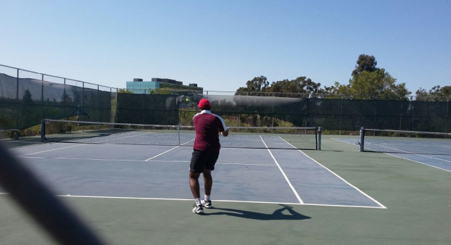 Avi Ganti and Ryan Ghassemi advance to CIF Tennis Doubles Championships Quarter-Finals