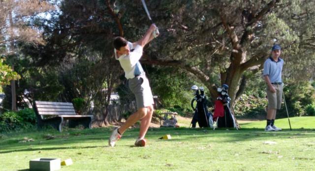 Varsity Boys Golf beat La Jolla at CCRB