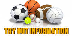2017 Fall Sports Tryout Information