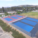 Construction Update – SRHS Tennis Courts 8/1/2017