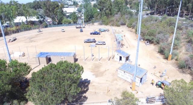 Construction Update – SRHS Softball Field 9/13/2017
