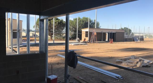 Construction Update – SRHS Softball Field 9/29/2017