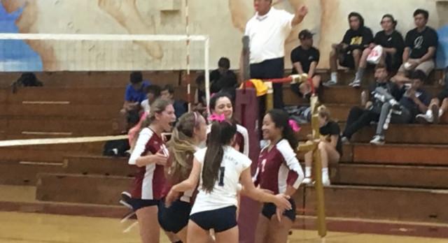 Varsity Volleyball Beat Point Loma In 4