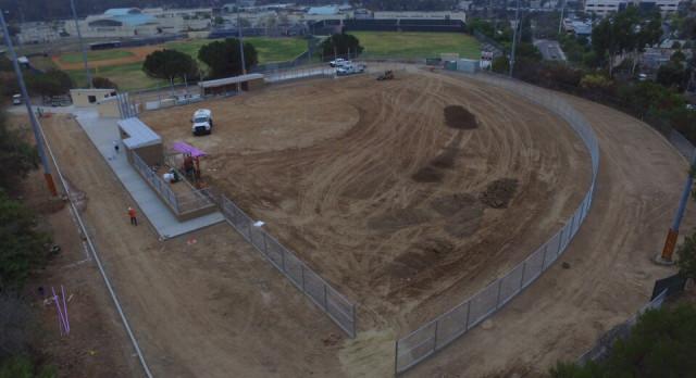 Construction Update – SRHS Softball Field 10/13/2017