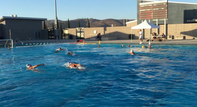 Varsity Boys Water Polo Beat Del Norte