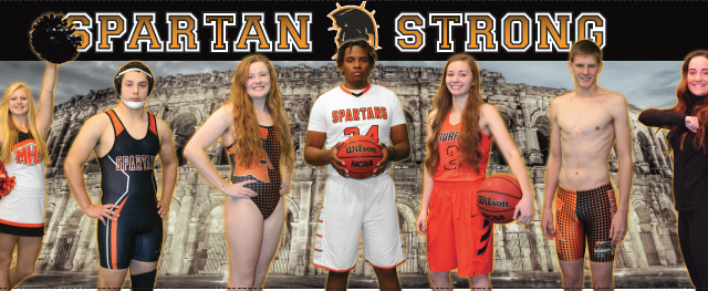 2016-2017 Winter Spartan Strong Athletes