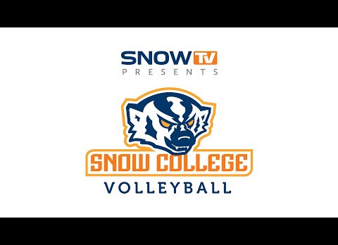 Snow College Volleyball Team Camp