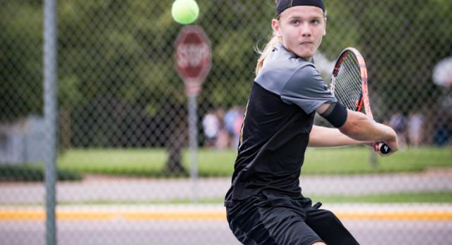 Canon City High School Boys Varsity Tennis falls to Pueblo County High School 5-2