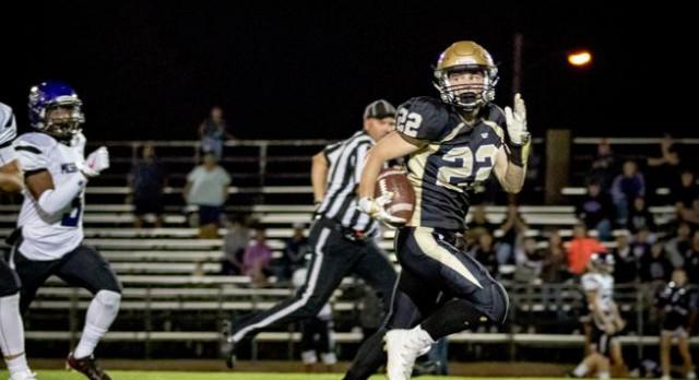 Canon City Football Tops Mesa Ridge