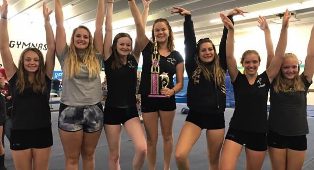 Gymnastics Results from Pueblo Central Invitation