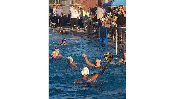 Clayton Valley High School Girls Varsity Water Polo beat College Park High School 6-4