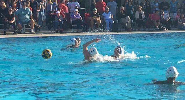 Clayton Valley Charter High School Girls Varsity Water Polo beat Concord High School 10-8