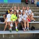 Girls JV Soccer Celebrates Defeating Churchill 4-3