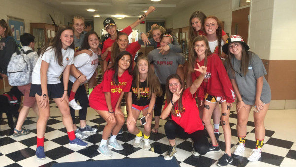 Maryland Spirit Day takes Girls JV Soccer to a 5-0 W over Blake.