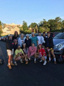 Frat-Boy Themed Spirit Day for B-CC Girls Varsity Soccer. The Girls beat Paint Branch HS 7-0.
