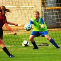 SDJA MS Girls Soccer vs Bishops 1/24/17