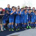 SDJA MS Boys Blue Soccer vs Coronado 2/9/17