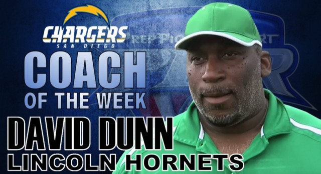 Coach Dunn Chosen as Chargers Coach of the Week
